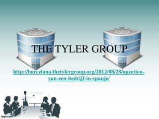 The Tyler Group: Opzetten van een bedrijf in Spanje