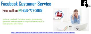 Which things make Facebook Customer Service 1-850-290-8367 so fabulous?
