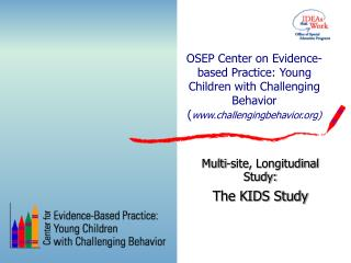OSEP Center on Evidence-based Practice: Young Children with Challenging Behavior challengingbehavior