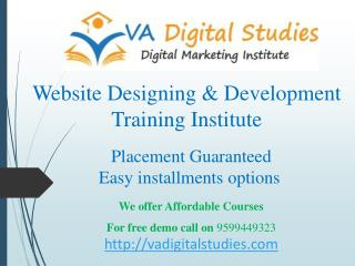 Website Design Course in Delhi