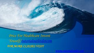Price For Healthcare Invent Youself/tutorialoutletdotcom