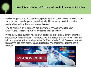 An Overview of Chargeback Reason Codes