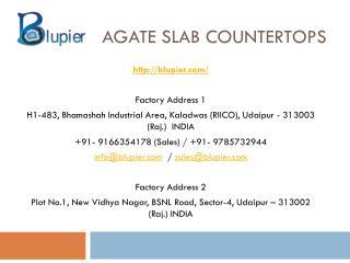 Agate Slab Countertops