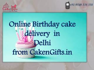 Choose and order your quality based cake from CakenGifts.in