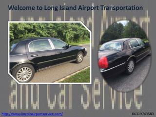 Long Island Islip Macarthur Airport Car Service