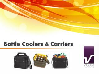 Bottle Coolers and Carriers at Vivid Promotions Australia