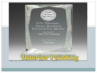 Interior Painting Service in Mecklenburg