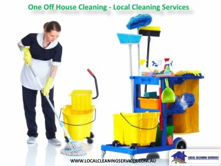 One Off House Cleaning - Local Cleaning Services