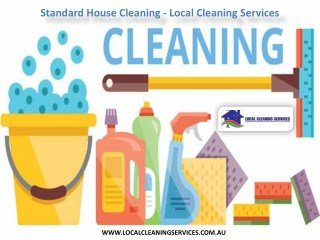 Standard House Cleaning - Local Cleaning Services