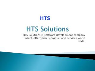 Get Business Product of HTS Solutions