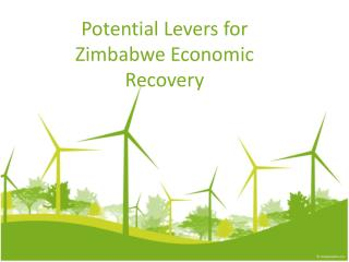 Potential Levers for Zimbabwe Economic Recovery