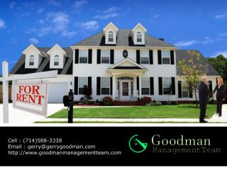 Professional property management in Orange County CA