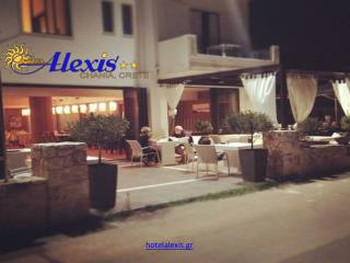 Book Alexis Hotels in Crete Chania at Reasonable Prices