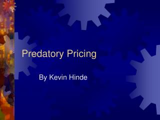 Predatory Pricing