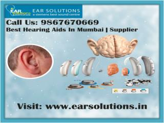 Get Best Hearing Aid in Mumbai | Dealer | Supplier | Accessories