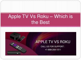 What are the features in common with that of Apple Tv and Roku?