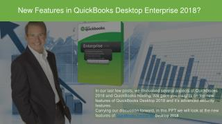 QuickBooks Enterprise Desktop 2018 Features