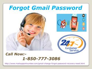 Use Forgot Gmail Password Number To Connect With Tech Officials? @ 1-850-777-3086