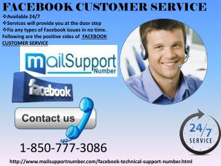 Want to figure At Facebook? Get Facebook customer Service  @ 1-850-777-3086