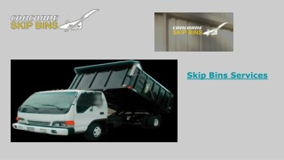 Skip Bin Hire Services - Concorde Skip Bins