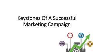 Keystones Of A Successful Marketing Campaign