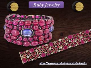 Ruby Jewelry - Gemco Design