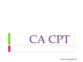 CA CPT