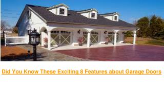 Garage Doors - Residential and Commercial | ActionOverHeadDoorOfSavannah Garage Doors