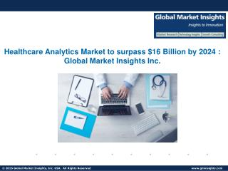 Healthcare Analytics Market drivers of growth analysed in a new research report