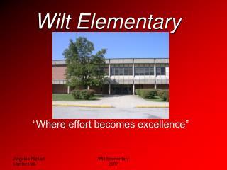 Wilt Elementary