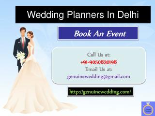 Wedding Organisers in Delhi | Genuine Wedding