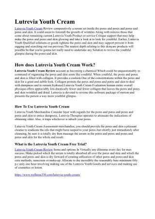 http://www.supplement4choice.com/lutrevia-youth-cream/
