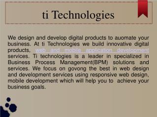 ti Technologies