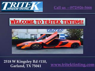 Best Commercial window tinting dallas