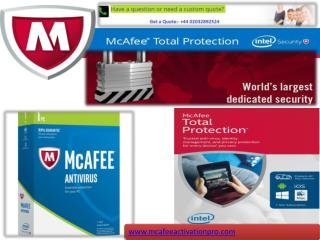 www.mcafee.com/activate|Activate Mcafee Live Safe