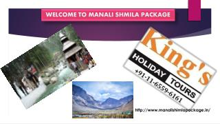 Manali Shimla Tour – An Opportunity To Enjoy The Best Of Nature