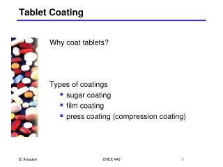 Tablet Coating