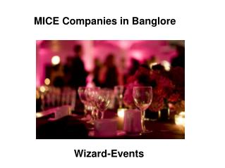MICE Companies in Banglore | Top Event Management Companies in India