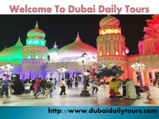 Book Dubai Special Tours Packages
