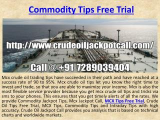 Get Easy Money in Crude Oil Trading Tips with High Accuracy