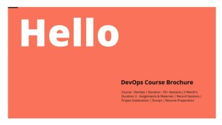 DevOps Online Training | DevOps Online Training In USA |Devops  MindBox Training Online