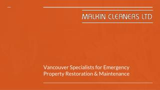 Specialists In Disaster Cleaning And Water Damage Repair Services