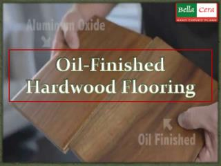 Oil-Finished Hardwood Flooring