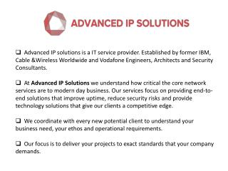 Advanced Network Security Consultant in London – AIP Solutions