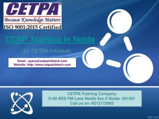 CCNP  Training in Noida