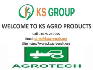 AGRO PRODUCTS RANGE
