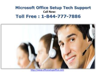 Just Call On 1-844-777-7886 for www.office.com/setup | OfficeCom-Setup Com