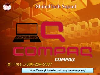 Compaq Laptop Support | Toll-Free:1-800-294-5907