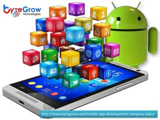 One of the Best Android Mobile App Developers in Jaipur