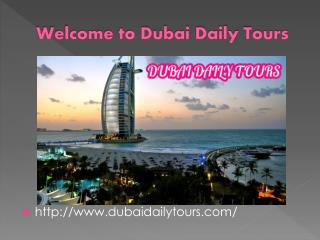Book best tours in dubai with exciting packages